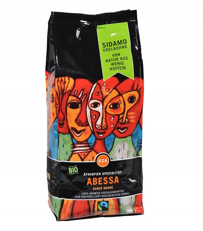 Káva Abessa 1 kg Etiópia SIDAMO bean typu Bio/Fair