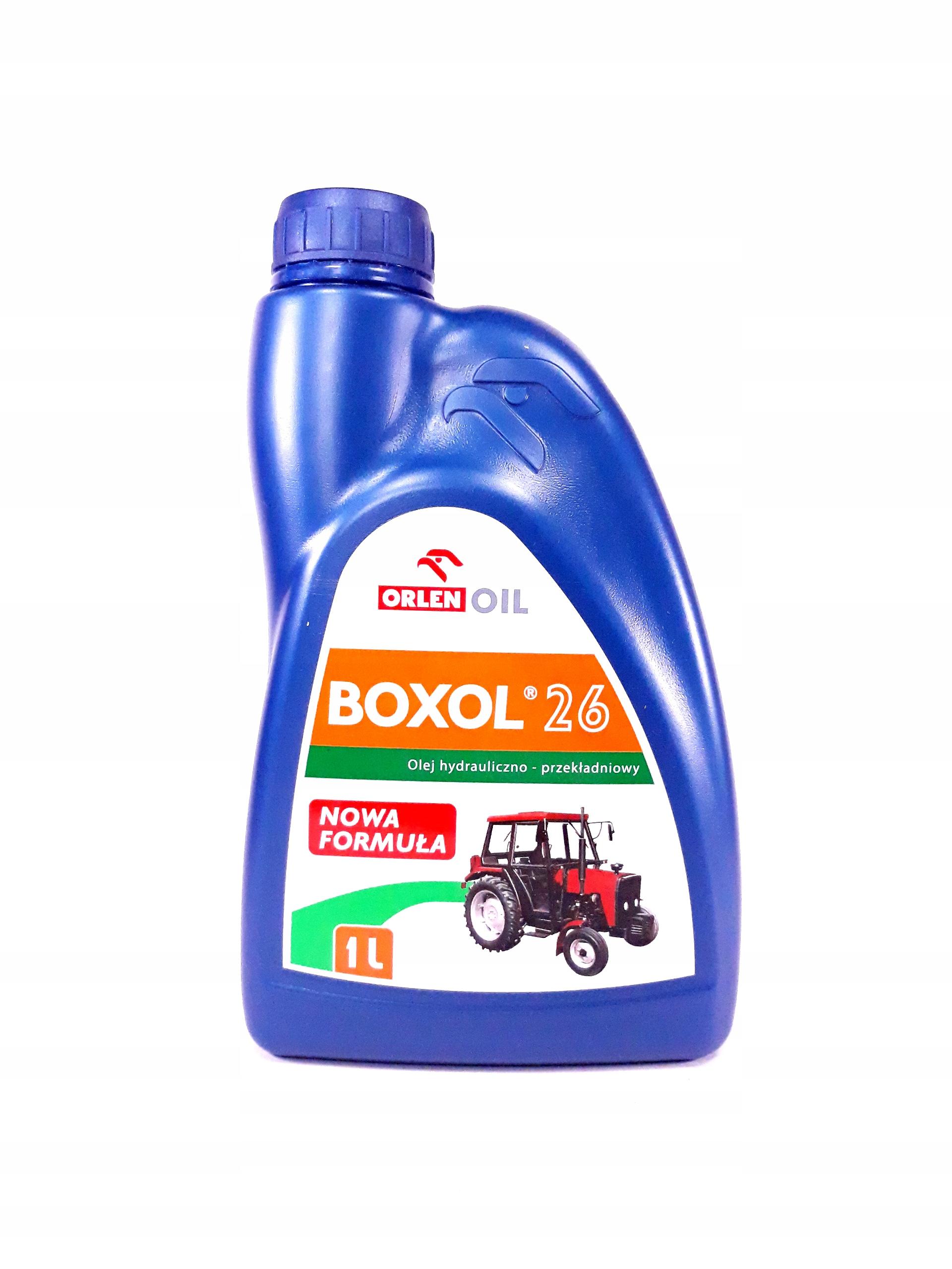 Гидравлическое трансмиссионное масло Orlen BOXOL 26 1л