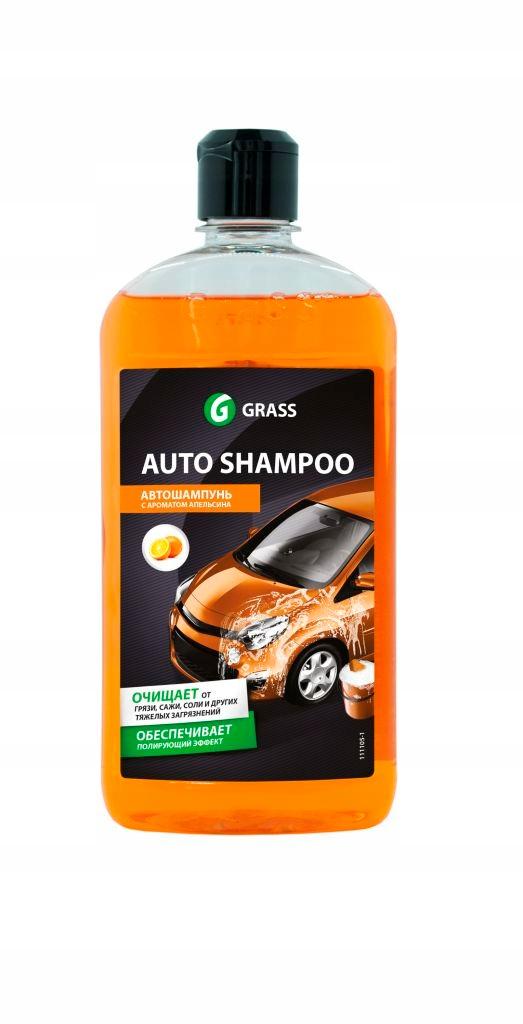 GRASS АВТО ШАМПУНЬ Orange 1L - Автомобильный Шампунь