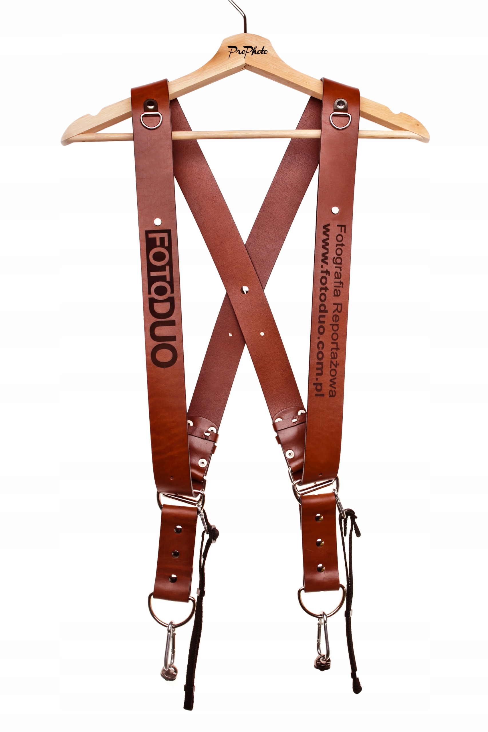 Item BRACES PHOTO LEATHER BRONZE ENGRAVED FOR FREE