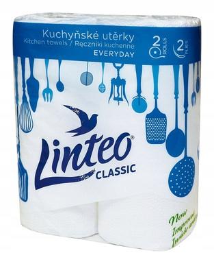Ręczniki papierowe LINTEO classic 2 warstwy- 2 SZT