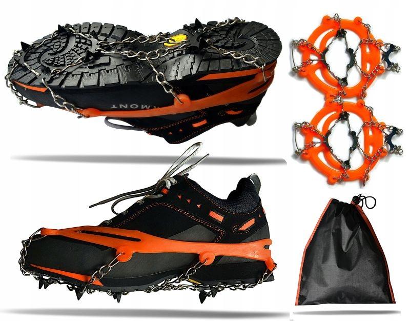 Обрабатывает накладки и обувь с шипами для льда оранжевого цвета 8 х 12 мм