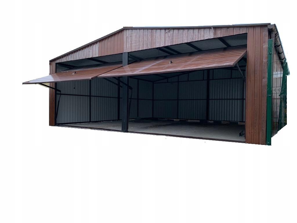 Garaż blaszany 7x6 garaze blaszane TYCHY