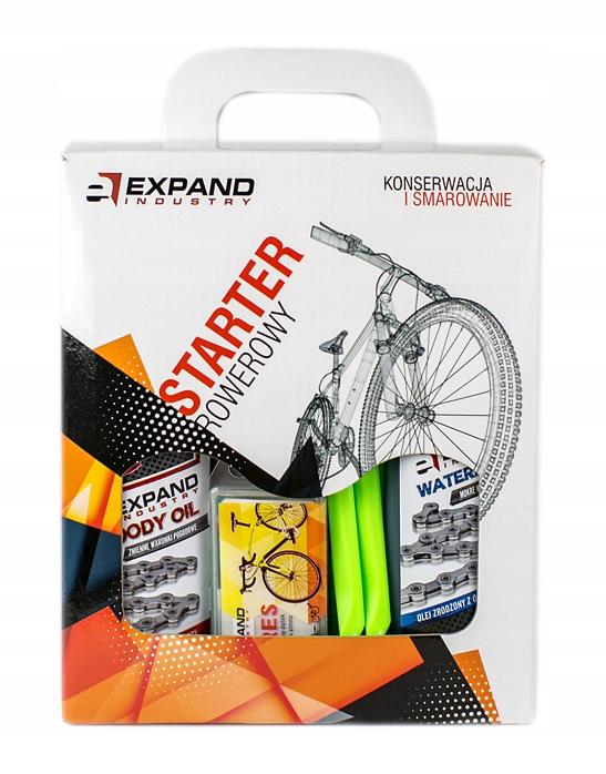 Профессиональный НАБОР для обслуживания велосипеда Expand
