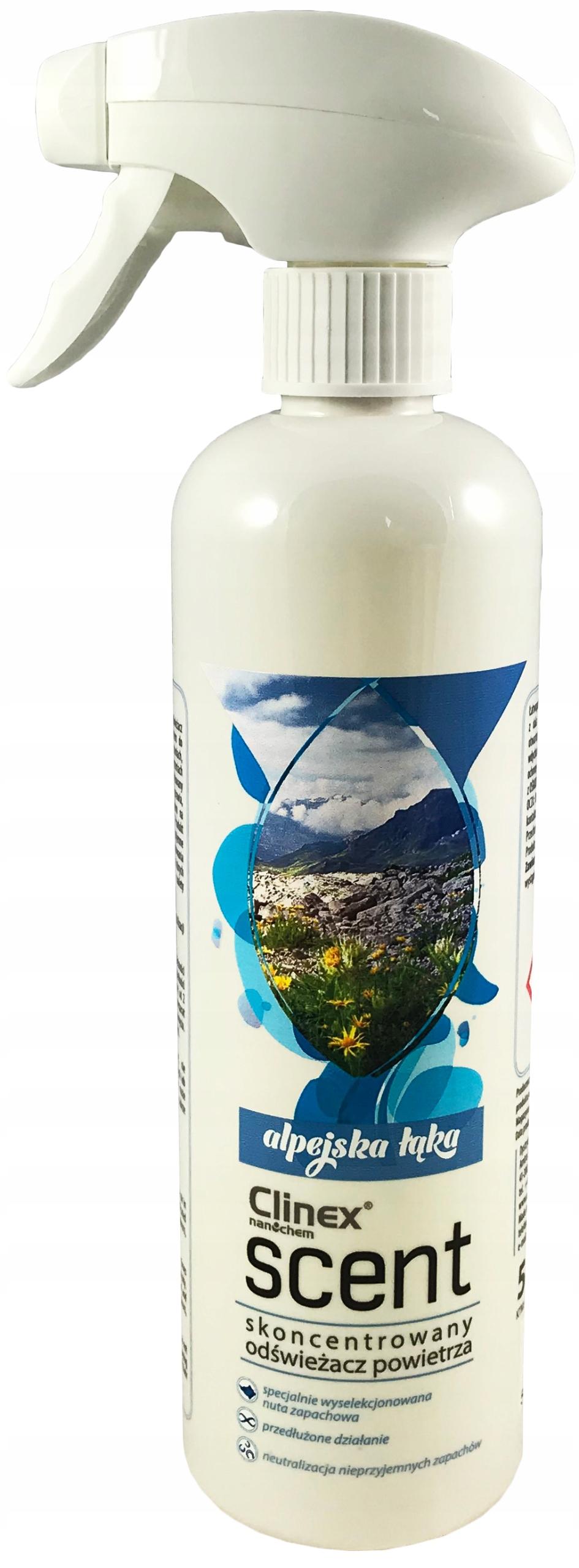 Освежитель CLINEX Запах 500мл Альпийский луг