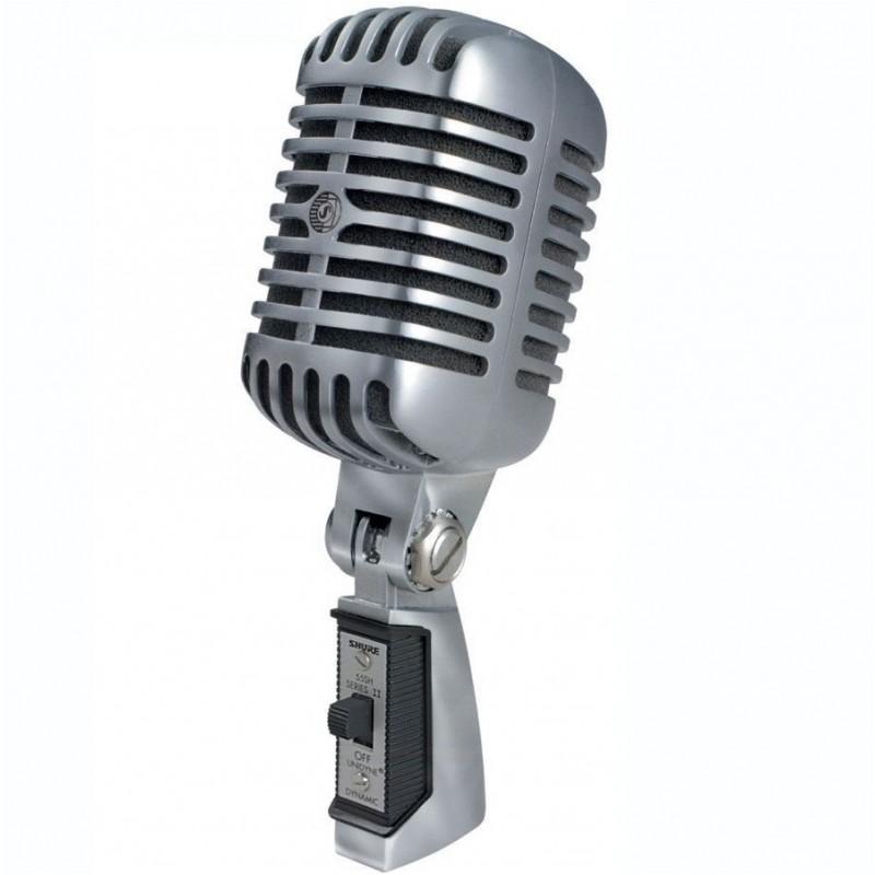 Dynamický retro mikrofón ELVIS SHURE 55 SH SRII