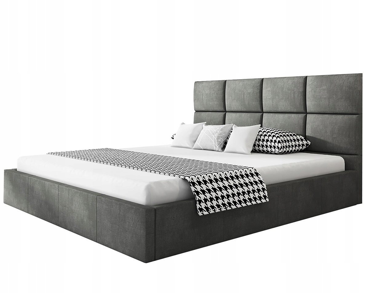 кровать обиты ROMA SLIM 180х200 Контейнер