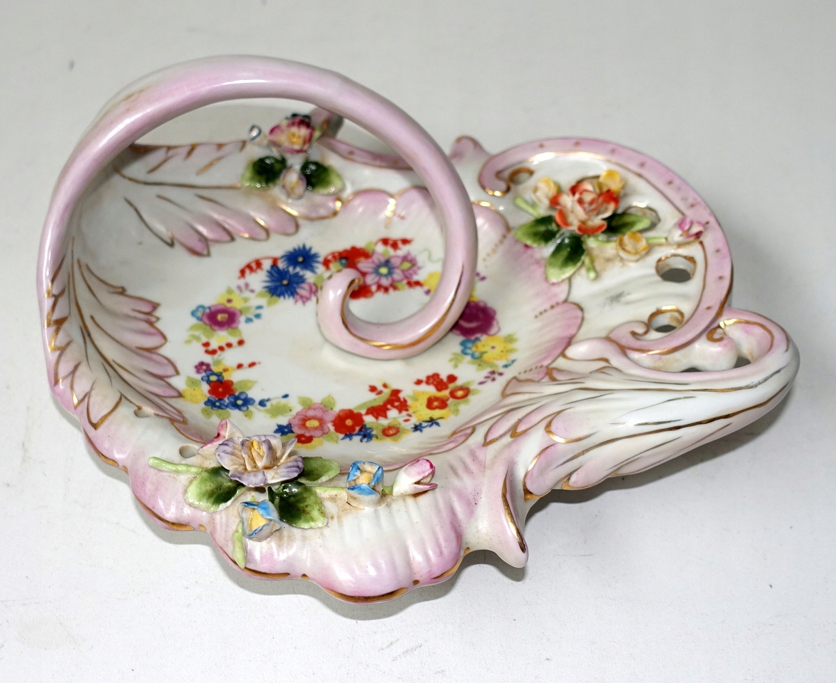 Тарелка из фарфора с тарелками JARDINIER