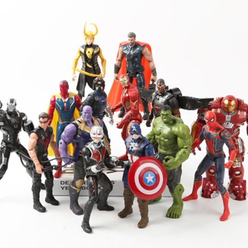 Figúrky Super hrdinovia akcie Avengers 3 ks