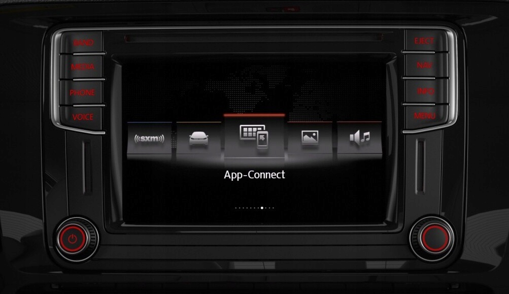 НАВИГАЦИЯ DISCOVER MEDIA VW SKODA SEAT APP CONNECT