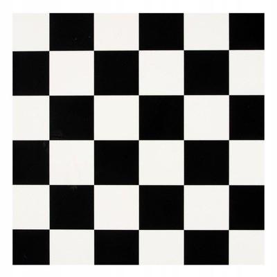 Wykładzina PCV Szachownica czarno biała Tarkett 4m