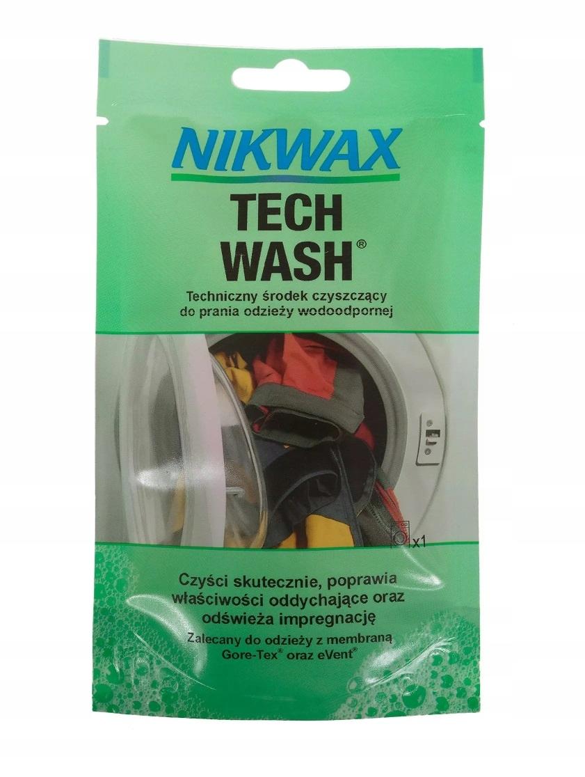 Nikwax Tech Wash 100 мл жидкость для стирки одежды