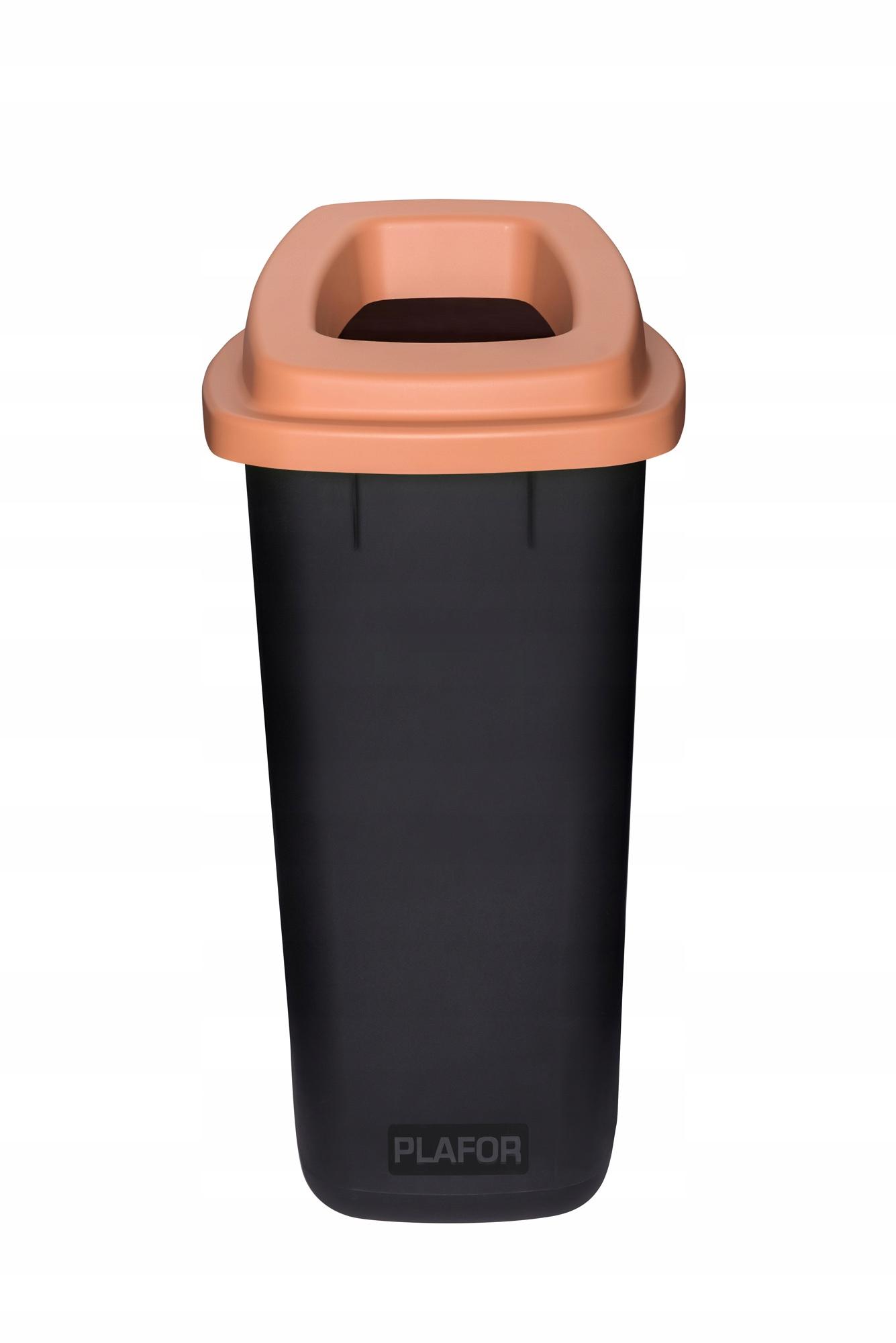 КОРЗИНА ECO для сортировки мусора 90L БИО -бронза PLAFOR