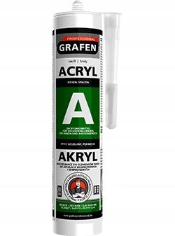 АКРИЛОВЫЙ акриловый герметик GRAFEN 300ML WHITE