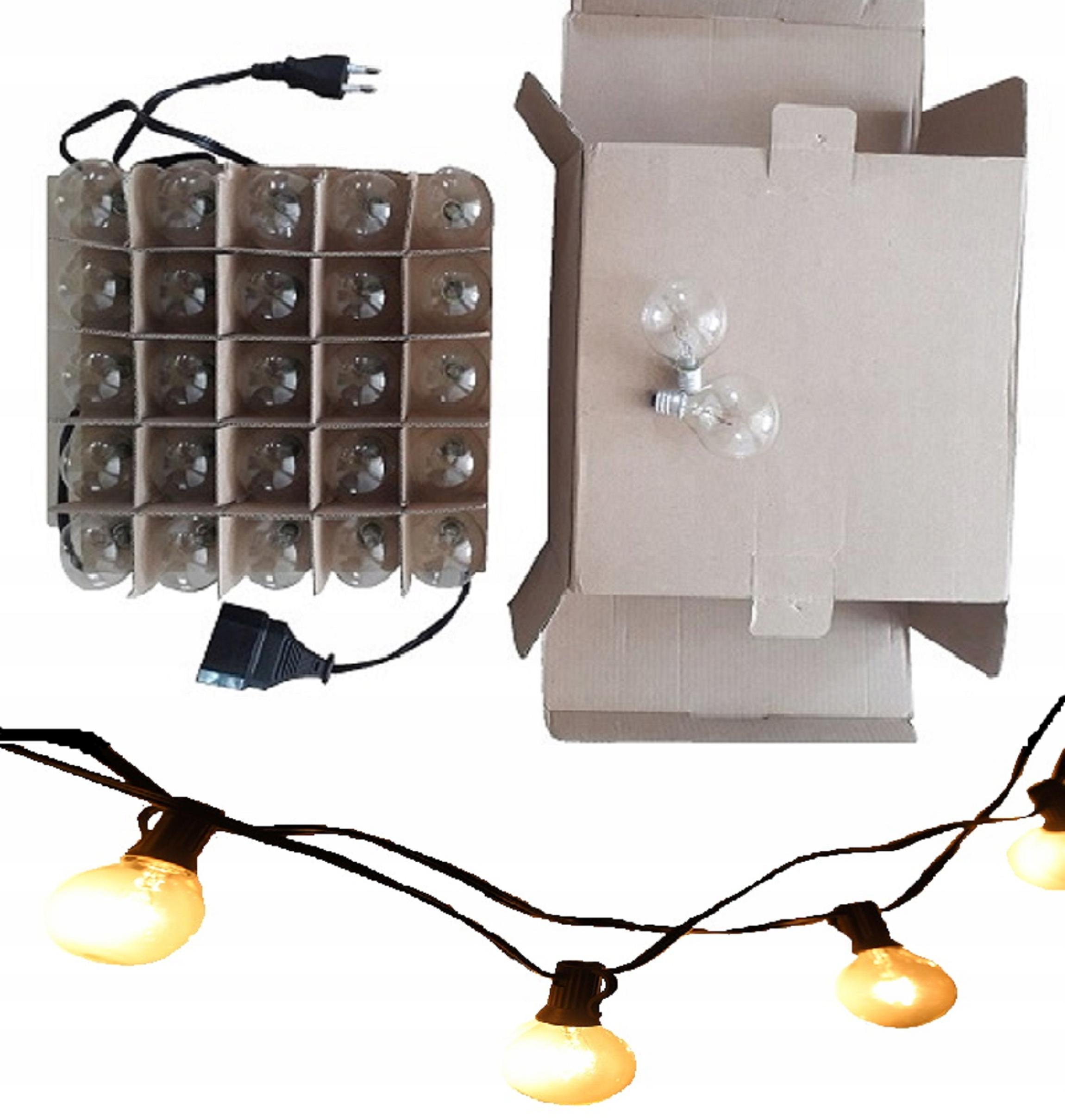 Vlkovcový žiarovka svetla RETRO drôt žiarovky