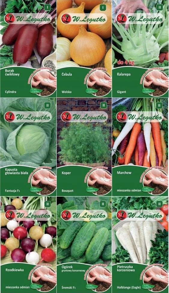 Zestaw Nasion Warzywa Nasiona Otoczkowane Otoczka 8790071674 Allegro Pl