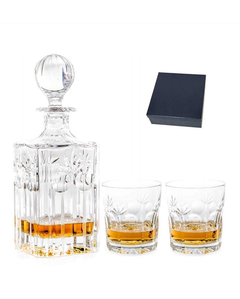 Carafe s rytrom a okuliarmi pre darček na whisky