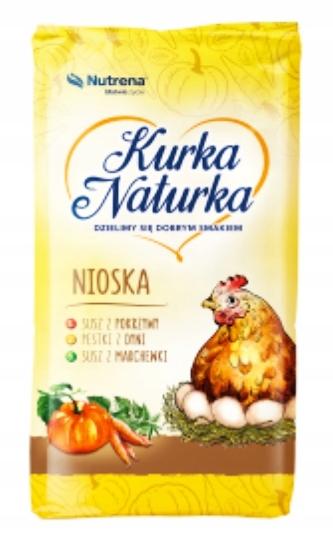 NUTRENA - КРАНА NATURKA КОРМ NIOSKA Для Кур-несушек, 25кг