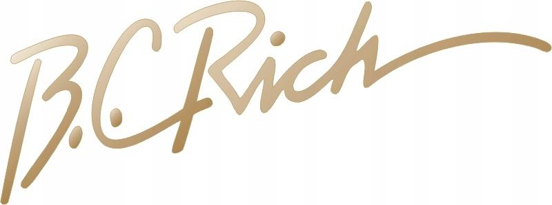 B.c.rich Gold Sticker Guitar Gryf Rôzne farby