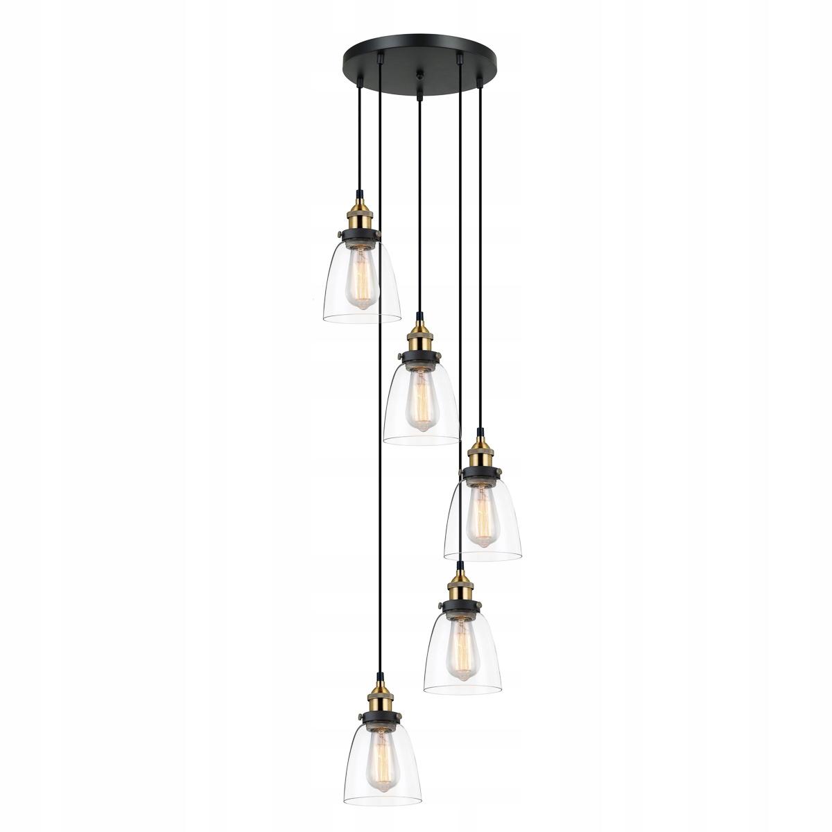 LAMPA PREVIS RETRO FRANCIS MDM-2563/5GD+CL ITALUX