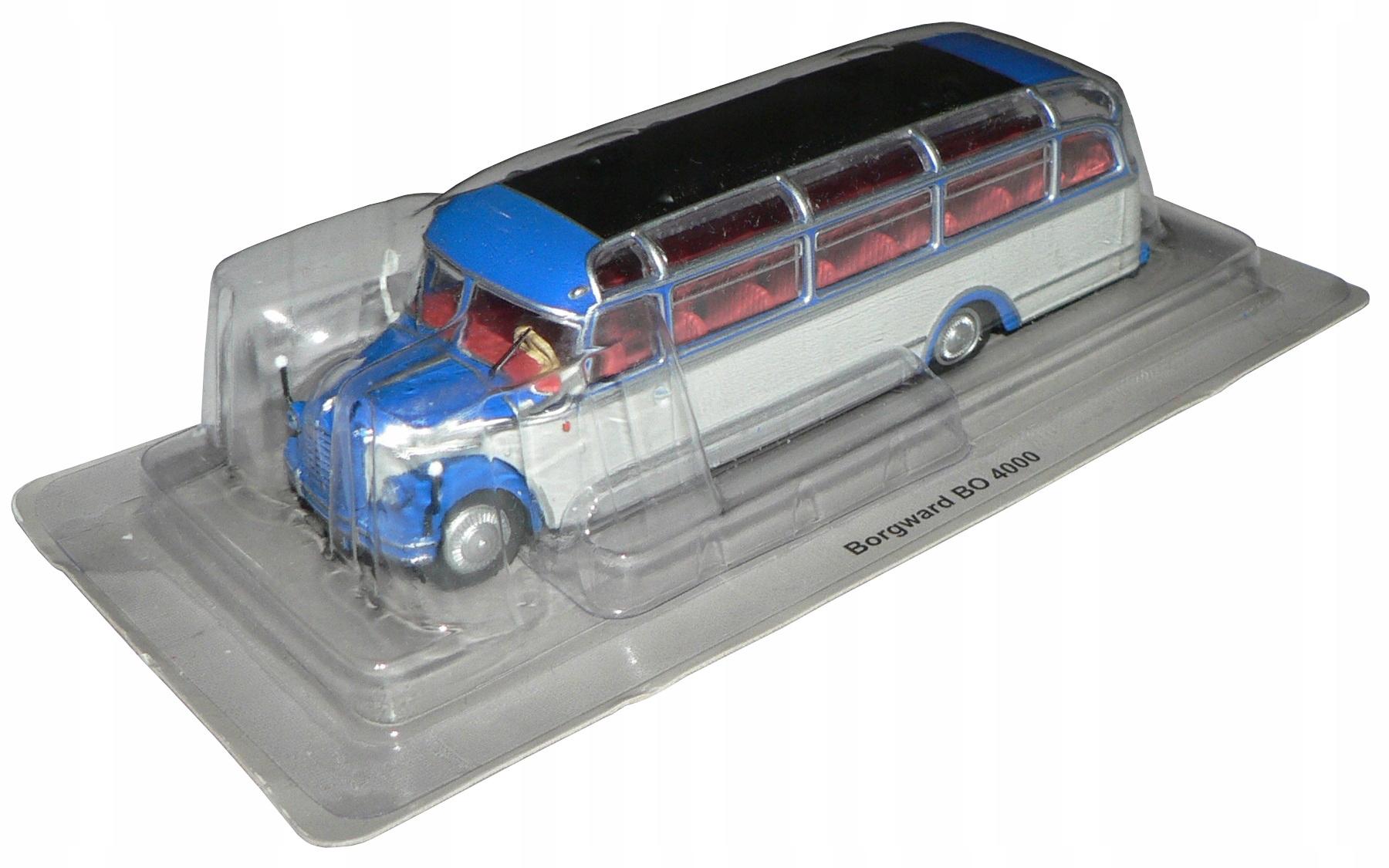 Kult Autobusy 20 - Borgward Bo 4000!