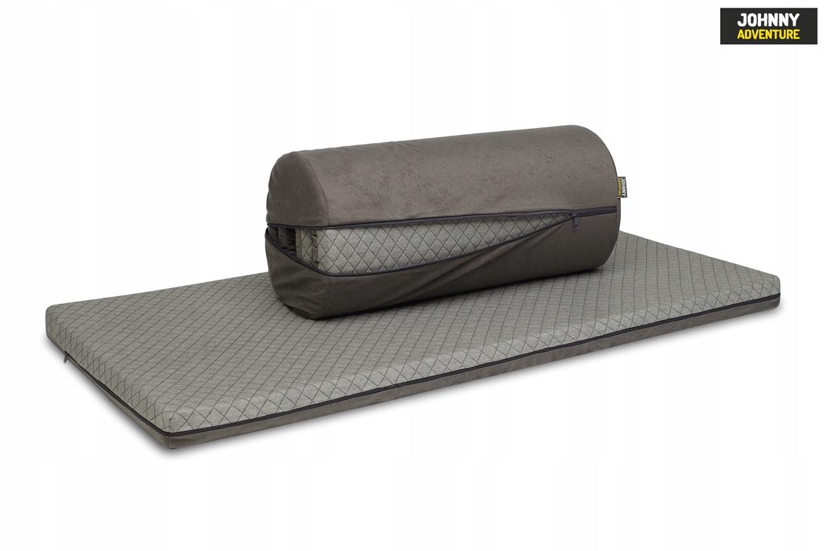 Rolowany materac do łóżeczka turystycznego 120x60