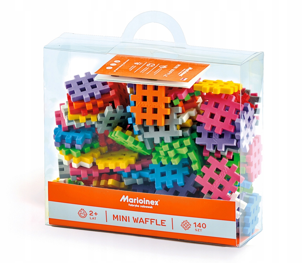 ORIGINÁLNE oblátky BLOCKS mini WAFFLE 140 krabica 2+