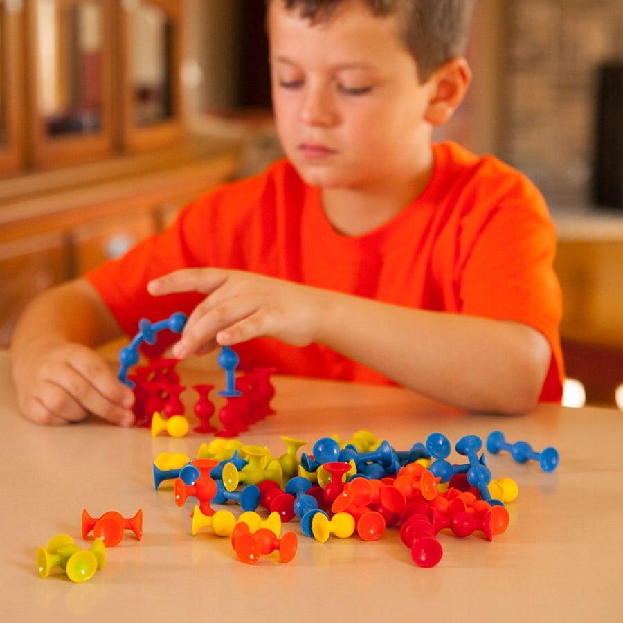 Fat Brain Toys Mini Squigz Przyssawki 75El, FA107 Certyfikaty, opinie, atesty CE EN 71
