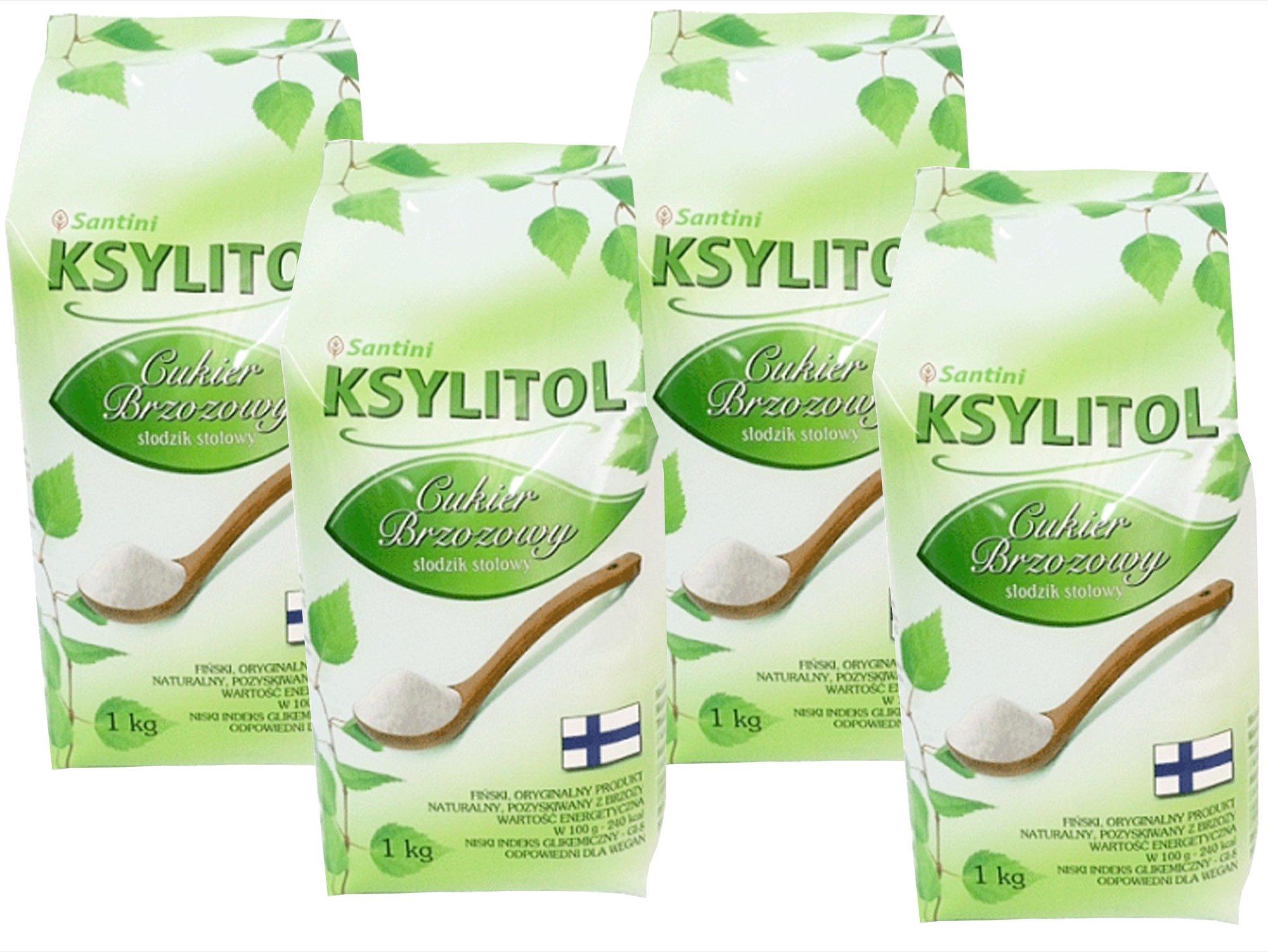 4 kg fínsky XYLITOL 100% breza cukru, ekonomika