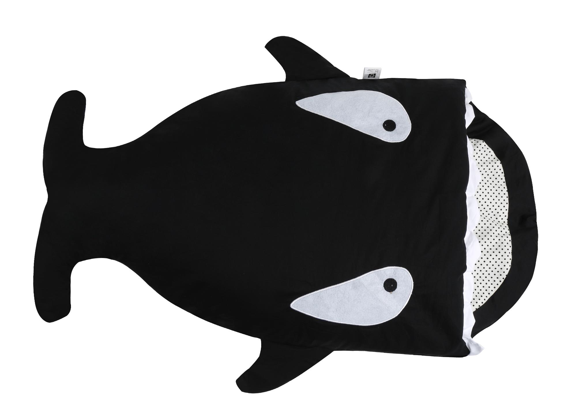 Obálku je radosť spánku BLACK SHARK ORCA 98cm! DARČEK