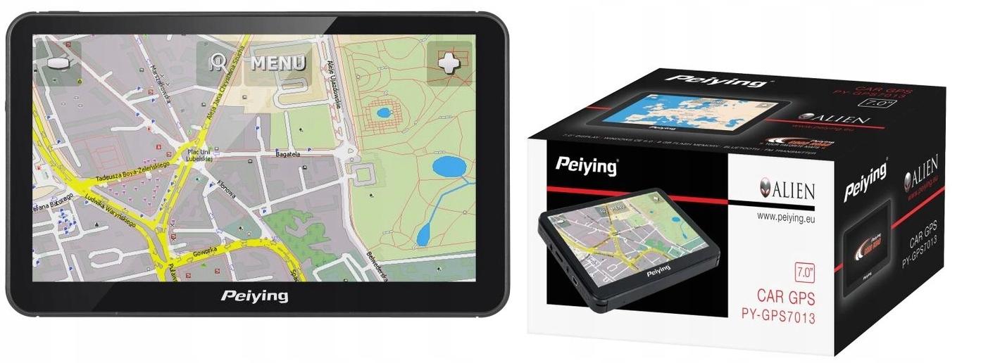 GPS-навигация Peiying 7 'PY-GPS7013 ЕС разблокирована