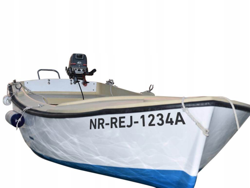 NUMERY REJESTRACYJNE водостойкийE łódkę łódź jacht