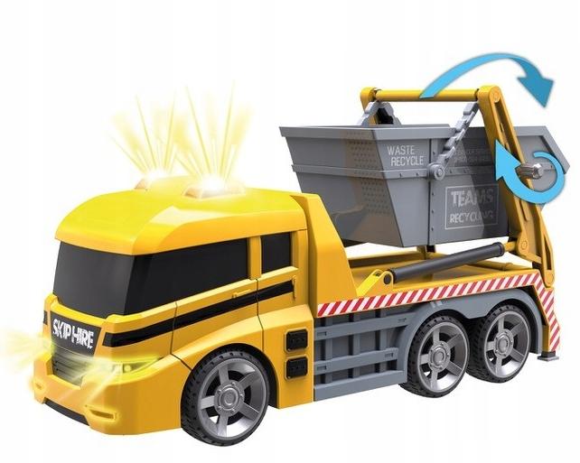 Smetiarske vozidlo City Fleet Dumel s kontajnerom