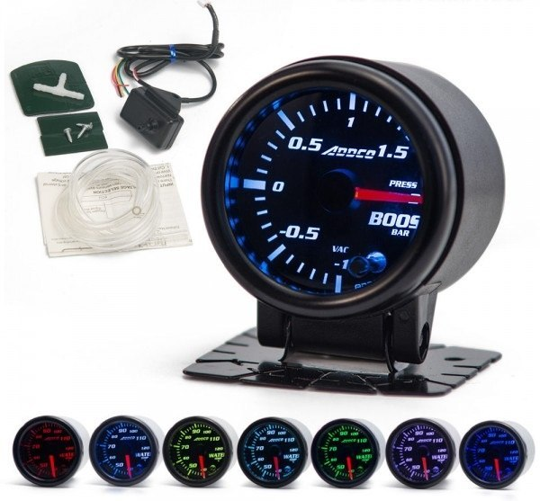 индикатор часы boost давление наддува 7 цвет