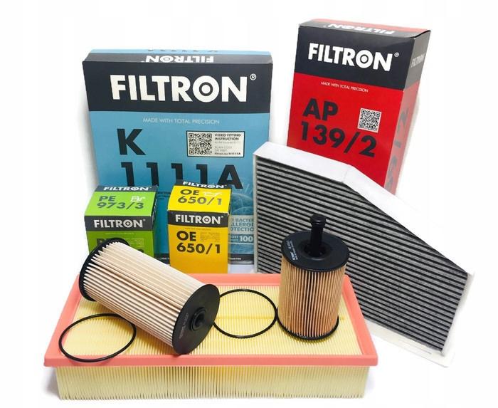 filtron комплект фильтры audi a3 8p 19 20 tdi 4szt