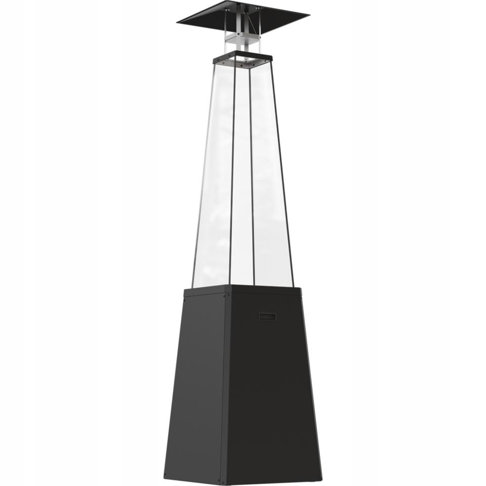 plynový ohrievač vykurovací dáždnik čierny UMBRELLA Maximálny vykurovací výkon 12 kW