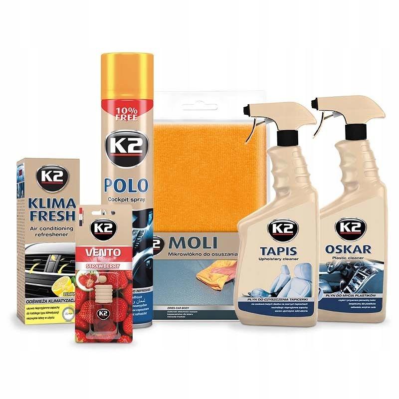 K2 INTERIO набор автомобильной косметики для интерьера
