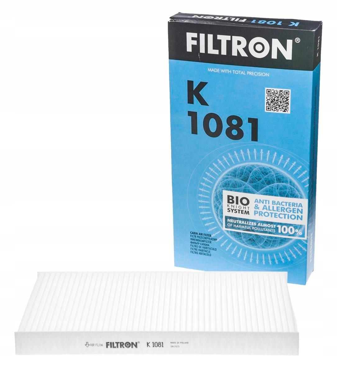 фильтр кабины filtron k 1081