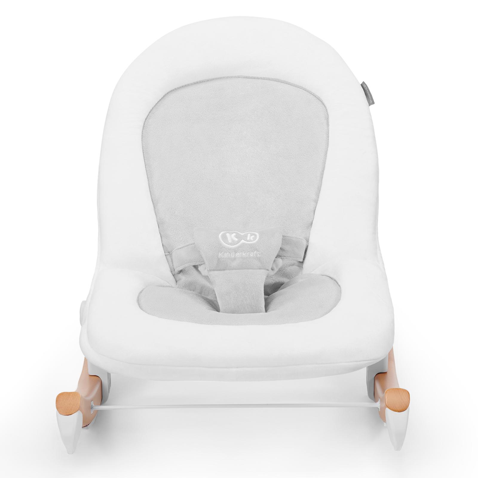 Детское кресло-качалка Стульчик для кормления Kinderkraft Код производителя FINI_FINIO_GRAY