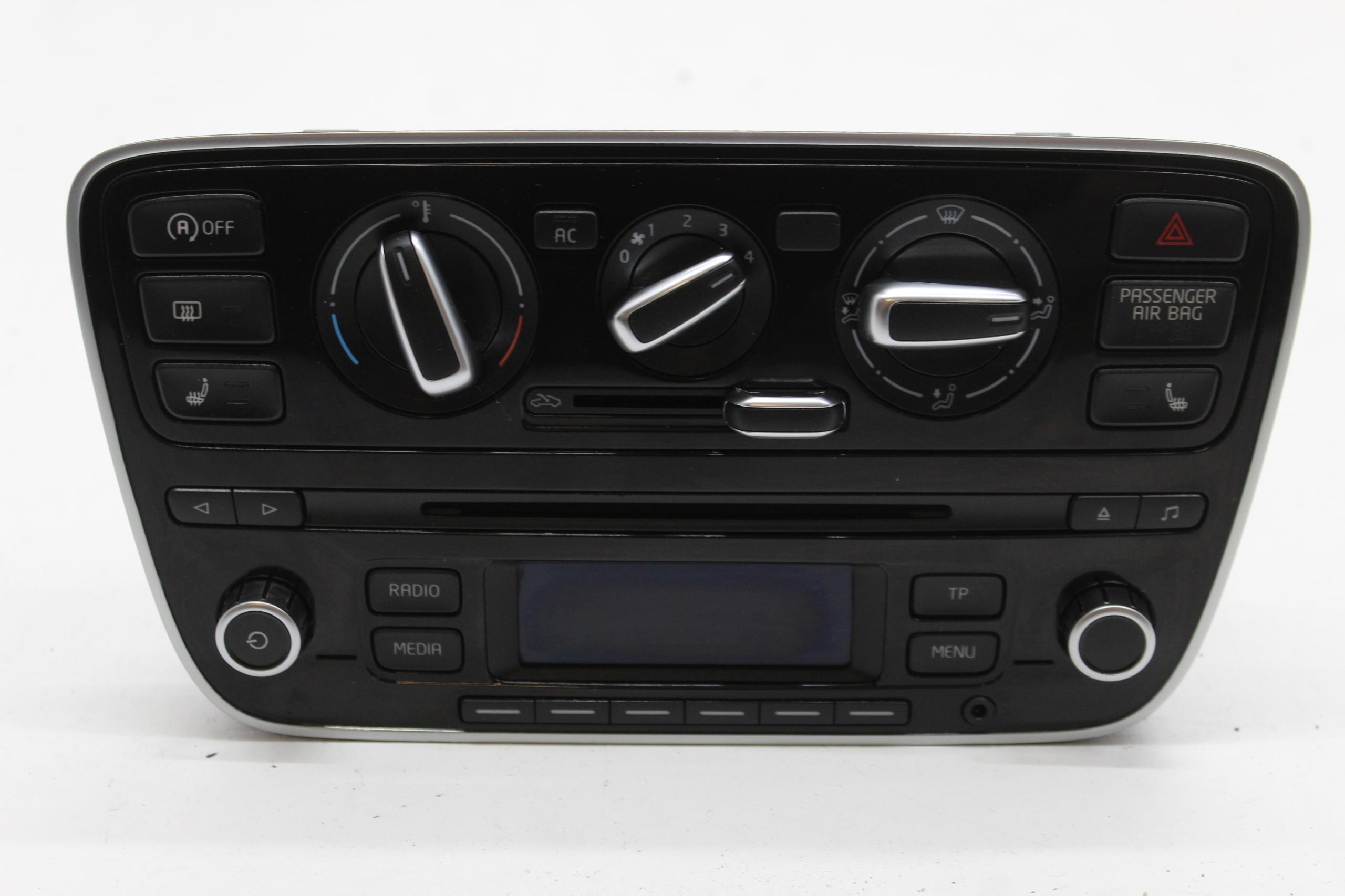 vw up радио панель klima 1s0035156h 1s0820045n
