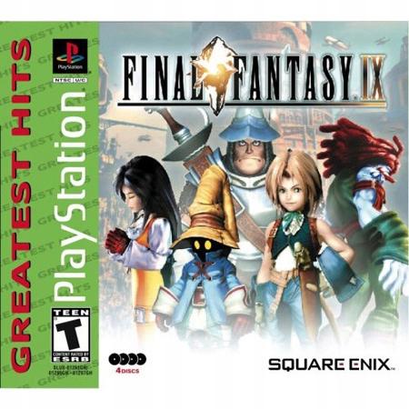 Final Fantasy IX PSX Nový Film 2CD z USA