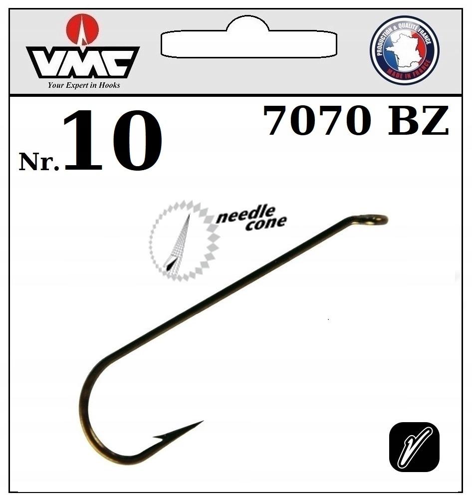 20 x HOOK VMC VNIUM FLY NYMPH 7070 BZ NO.10