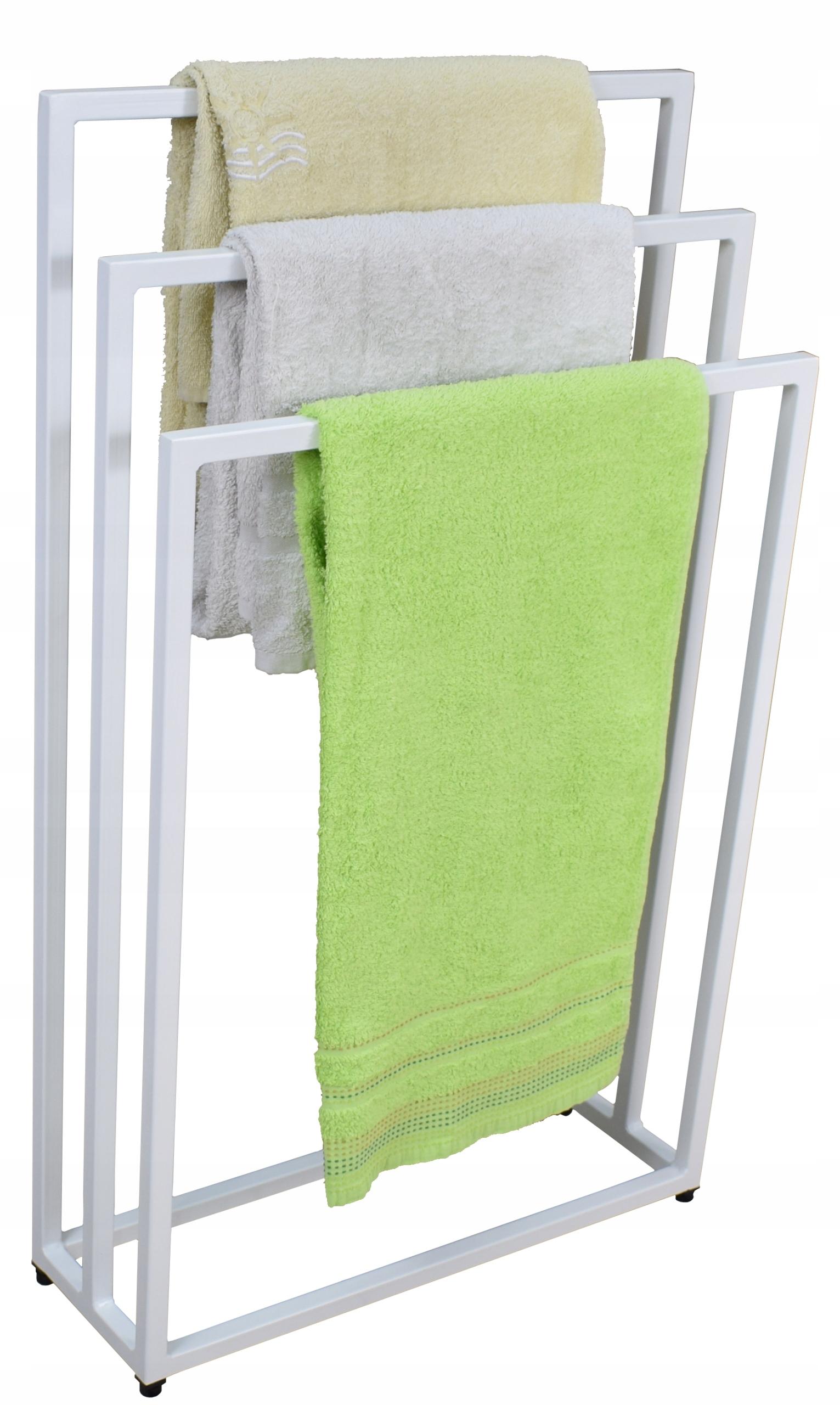 Vešiak, vešiak na uteráky Loft White Industrial