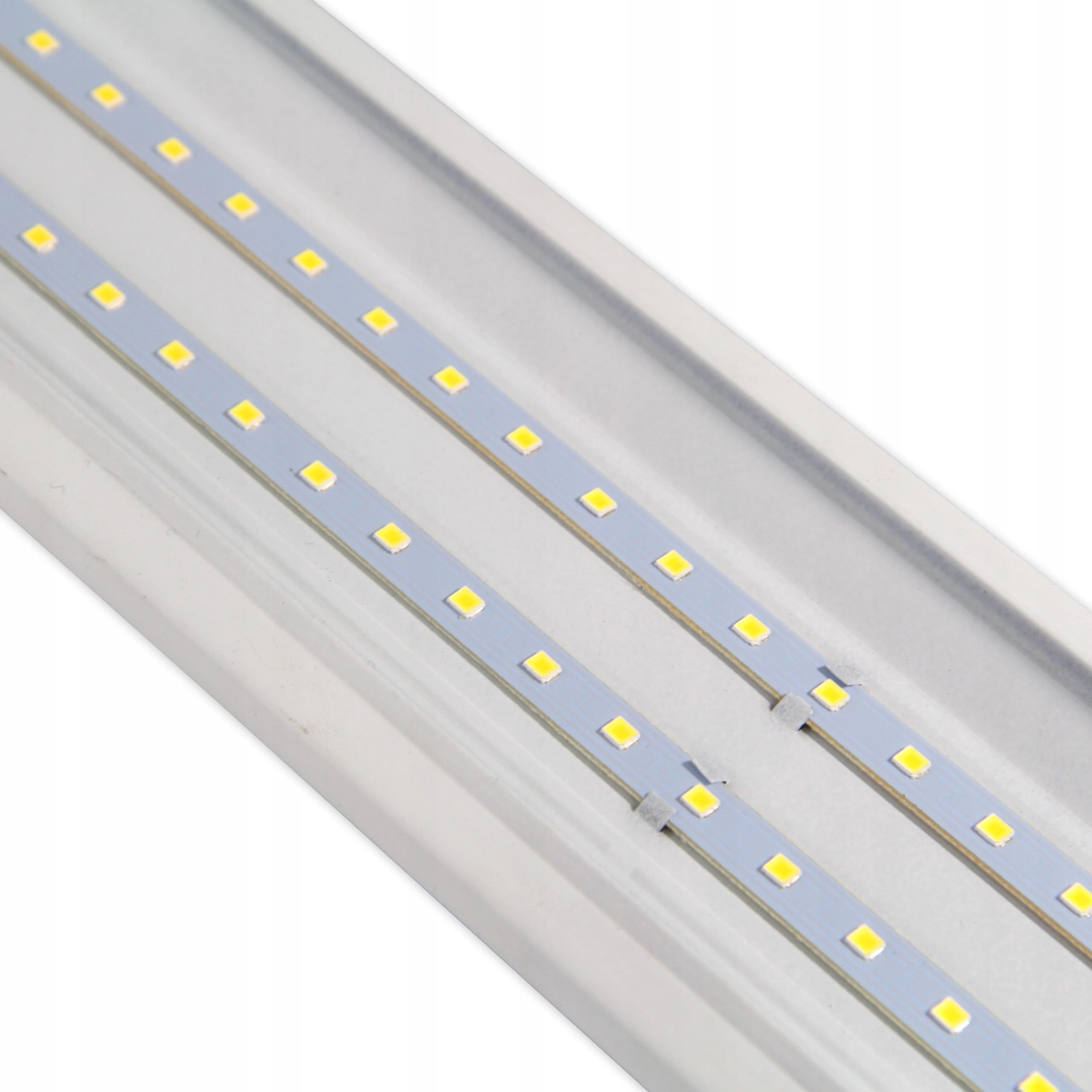 Lampa LED 60cm NATYNKOWA PANEL oprawa ŚWIETLÓWKA Liczba punktów światła 1