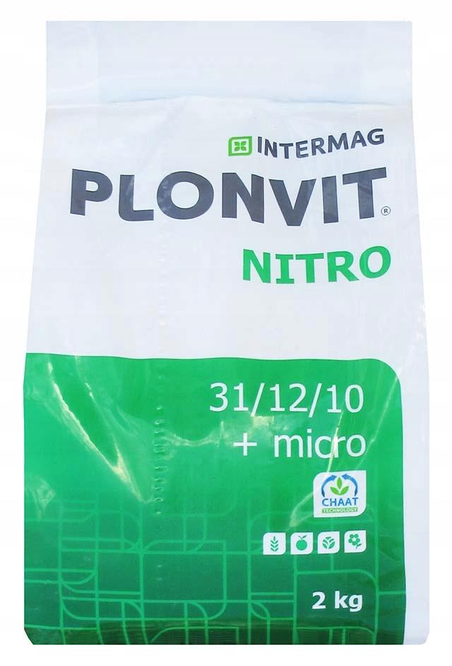 PLONVIT НИТРО 2кг удобрение dolistny кукуруза яблоня
