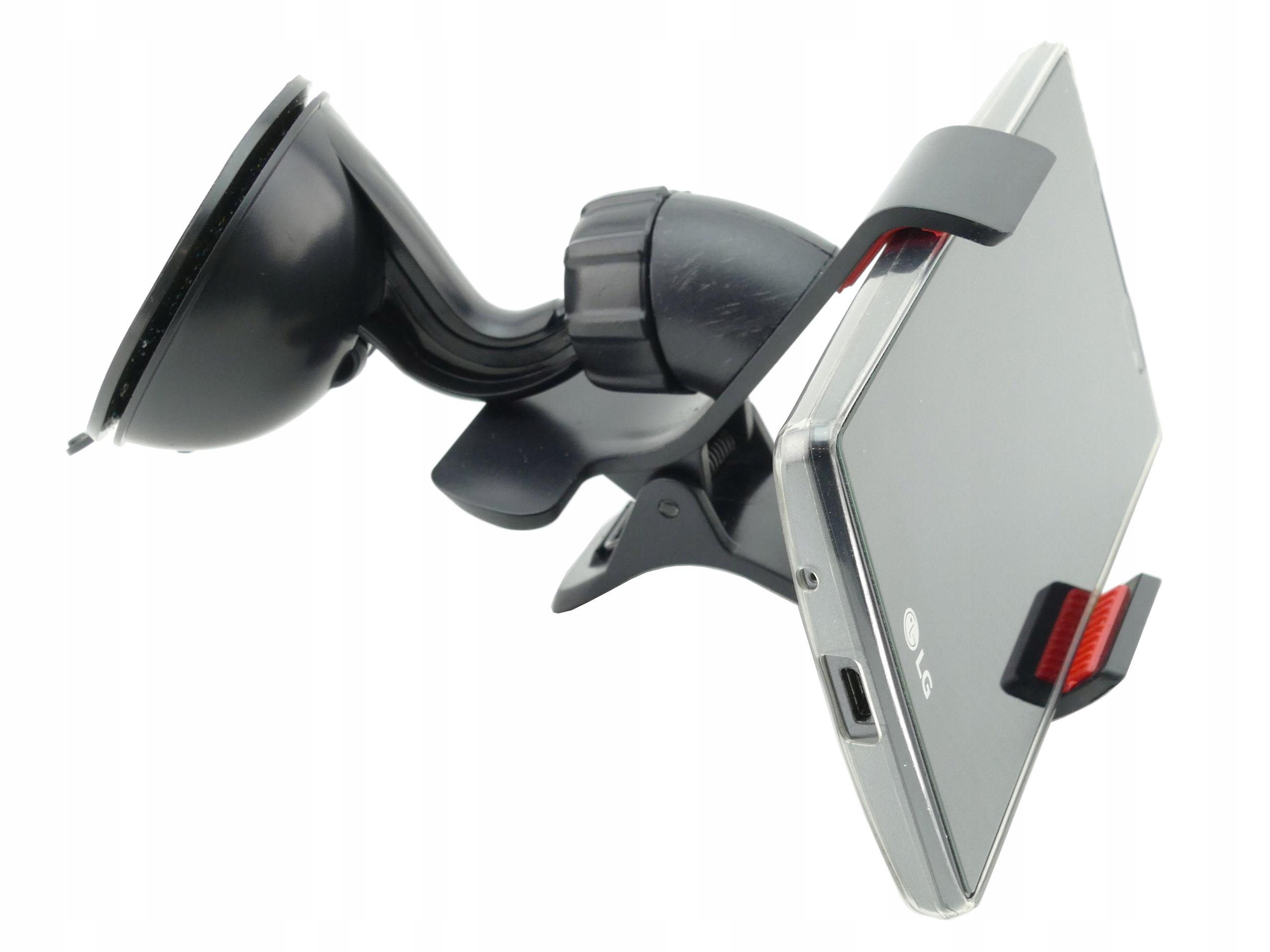 Uchwyt samochodowy na szybę - telefon Philips S318