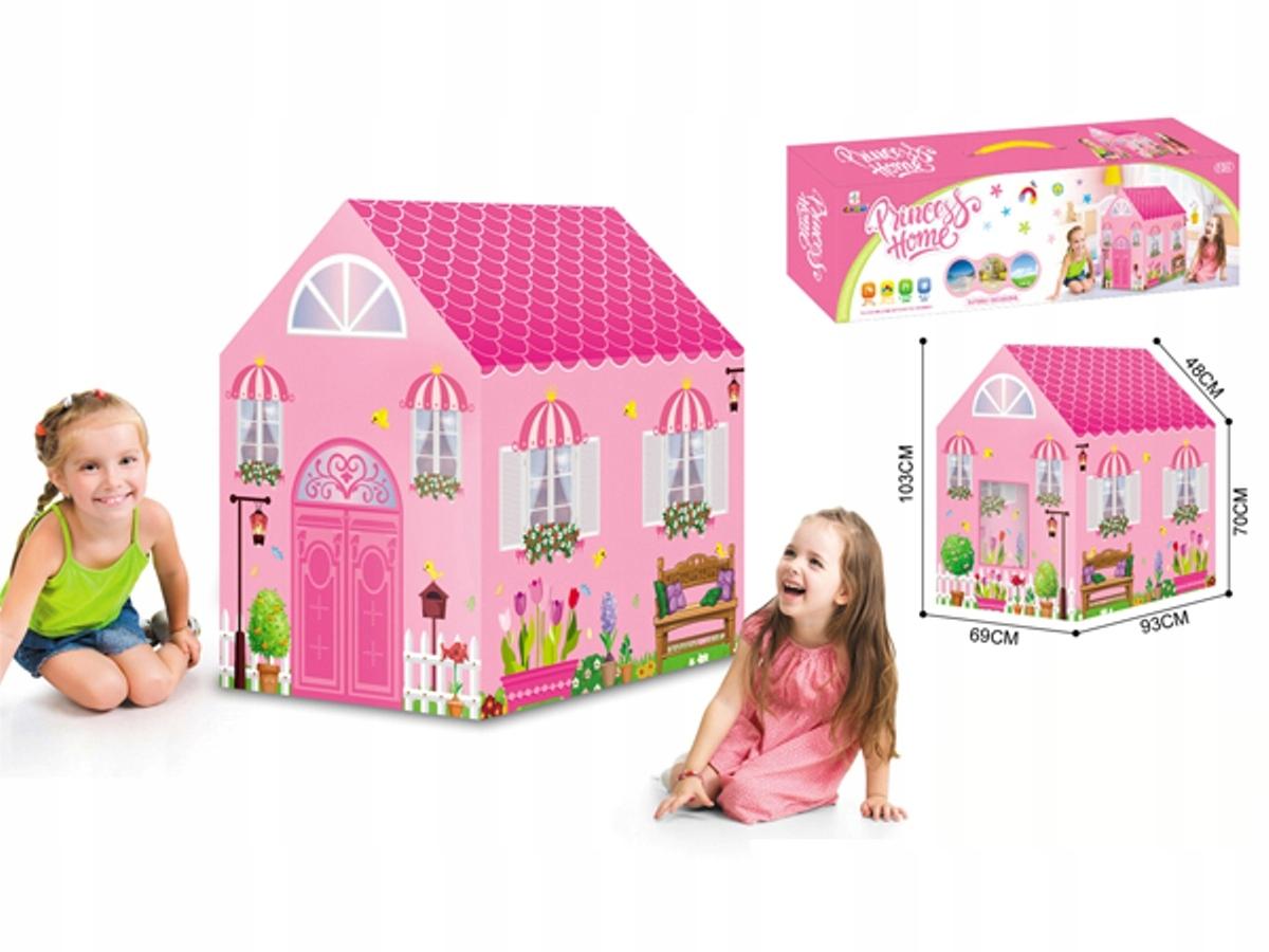 Namiot domek dla dzieci podłoga dwa wejścia 70B Kod producenta 99-7070