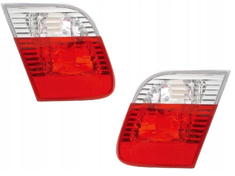 bmw 3 e46 седан 01-05 лампа новые сзади крышка l+p