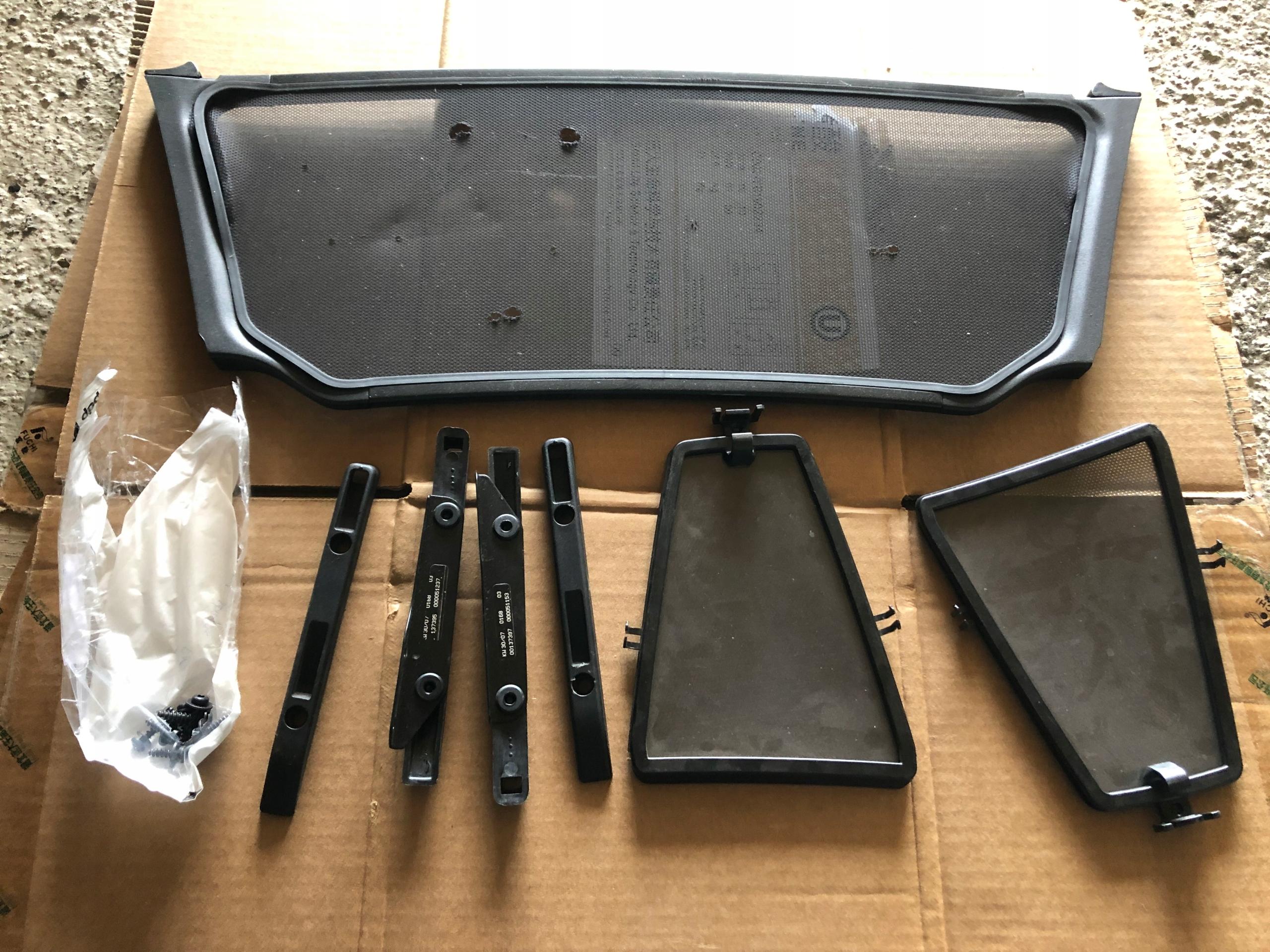 windshot комплект bmw z4 e85 комплект