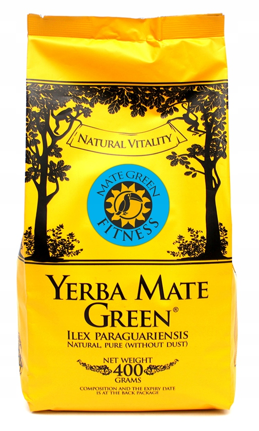 Yerba Mate green ФИТНЕС-400г Despalada с травами